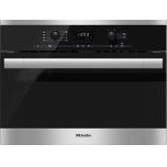 MieleMiele Built-in microwave oven with controls along the top for optimal combination possibilities.