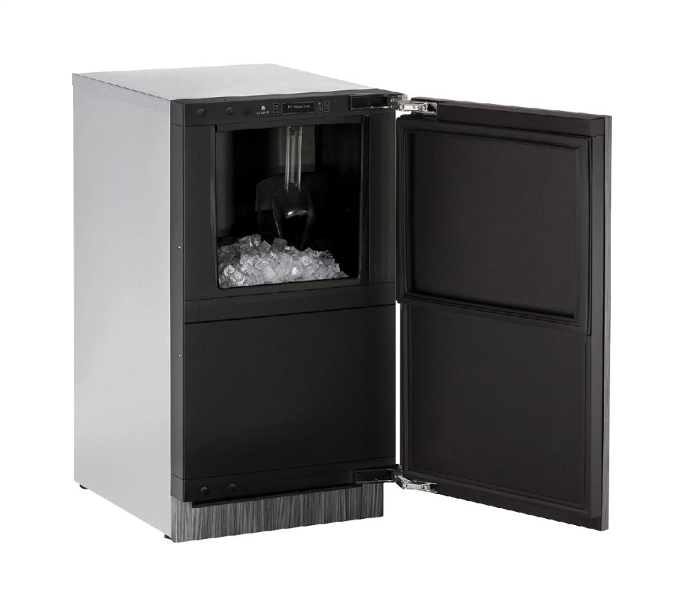 "Modular 3000 Series 18"" Clear Ice Machine With Integrated Solid Finish and Field Reversible Door Swing