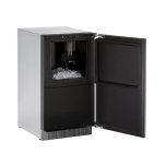 U-LineU-Line Modular 3000 Series 18&quot Clear Ice Machine With Integrated Solid Finish and Field Reversible Door Swing