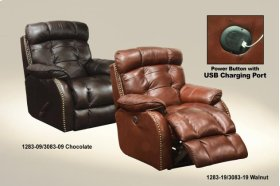 CLEARANCE ITEM--Glider Recliner