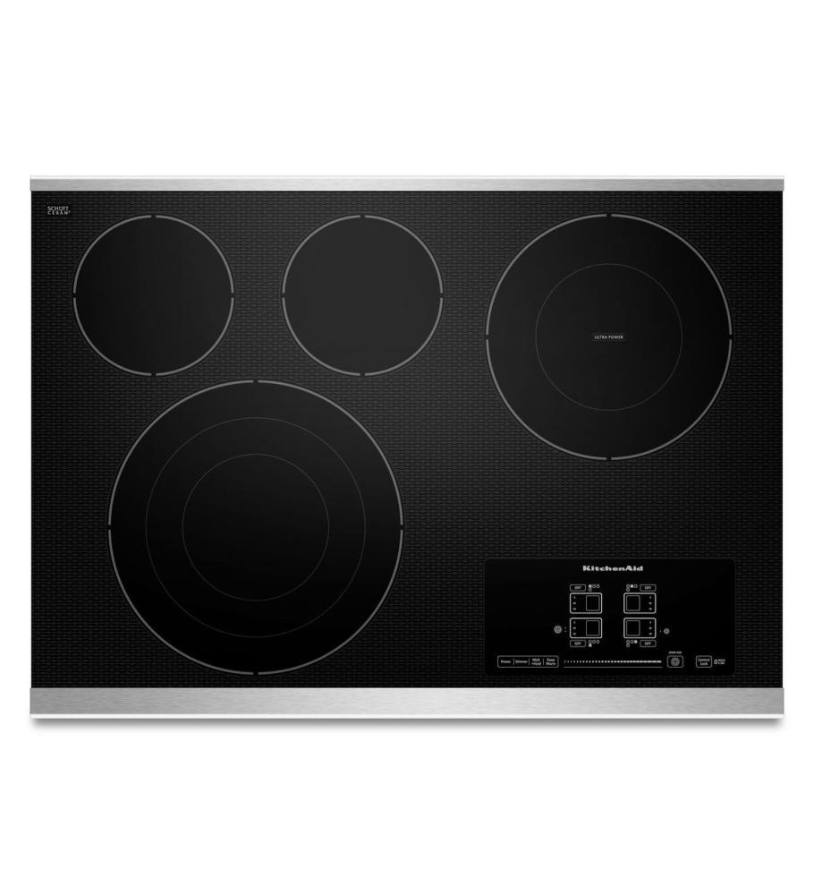 KitchenAid KECC607BSS Standard Cooktops Stainless Steel