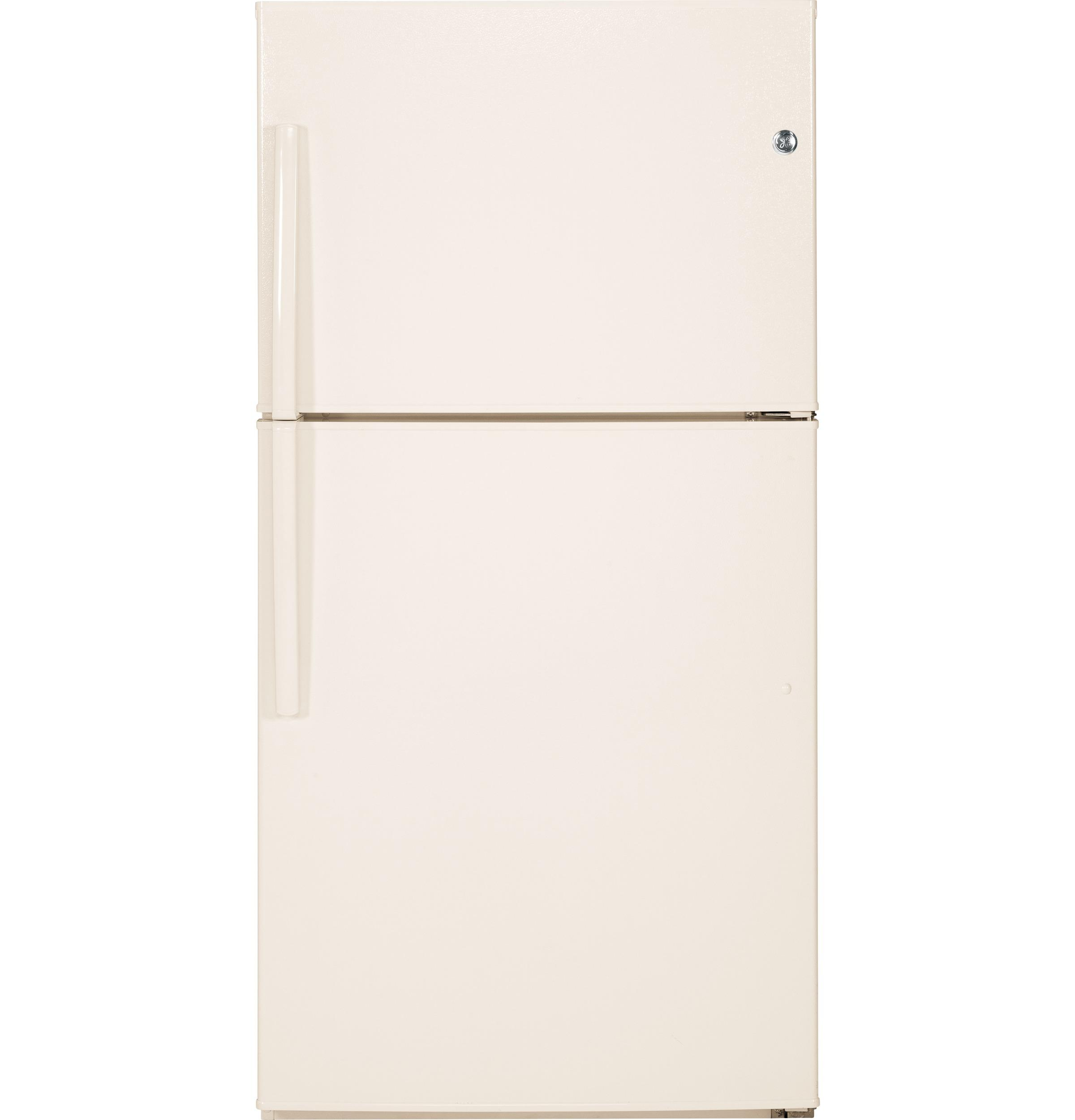 GE(R) ENERGY STAR(R) 21.2 Cu. Ft. Top-Freezer Refrigerator