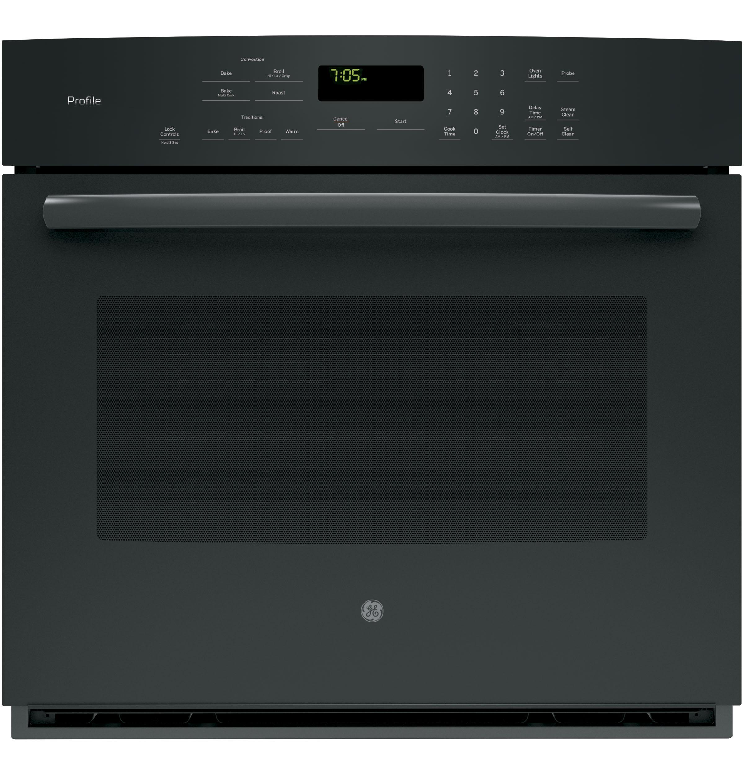 GE APPLIANCES PT7050DFBB  Black on ELECTRIC RANGESSINGLE WALL ELECTRIC OVEN