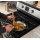 •black Porcelain Cooktop  •1 - 18,000 Btu Power Plus™ Burner  •5 Sealed Gas Elements  •2 Heavy Duty Oven Racks With 1 Off-Set  •Keep Warm Setting