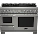 Thermador48 inch Professional Series Pro Grand Commercial Depth Dual Fuel Steam Range PRD48NLSGU