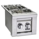 "Viking13""W. Double Side Burners, Natural Gas"