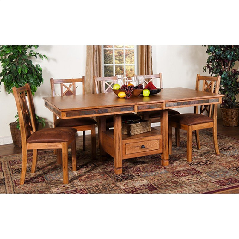 sunny designs in st louis mo sedona butterfly dining table w slate