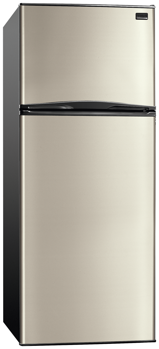 frigidaire 9 9 cu ft top freezer apartment size refrigerator