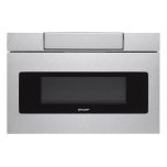 SharpSharp 24&quot 1.2 Cu Ft Microwave Drawer Oven