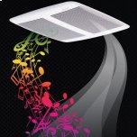 Broan SensonicTM Speaker Fan 110 CFM 1.0 Sones with Bluetooth(R) Wireless Technology