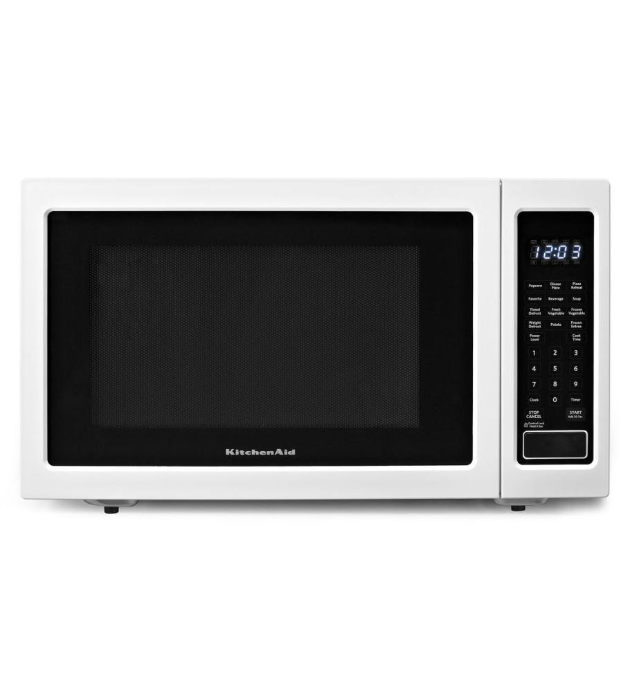 KCMS1655BWH KitchenAid 1.6 Cu. Ft. 1200W Countertop Microwave Oven ...