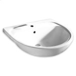 American StandardWhite Mezzo Semi-Countertop Sink