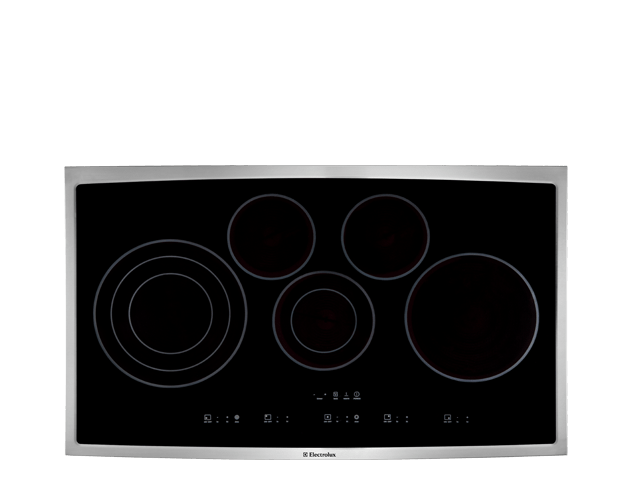 36'' Electric Cooktop  Stainless Steel
