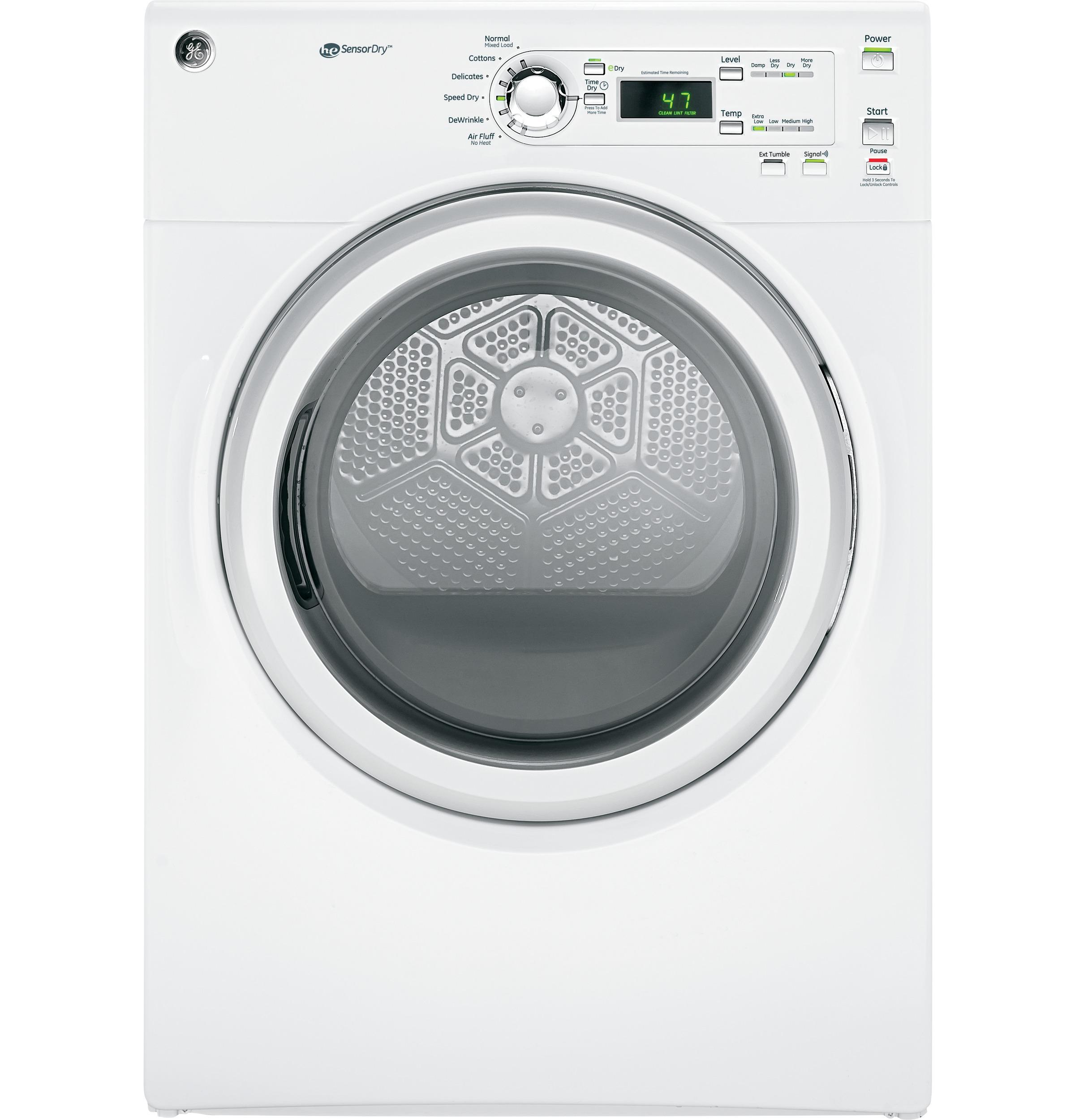 GE(R) 7.0 Cu. Ft. capacity Dura Drum electric Dryer