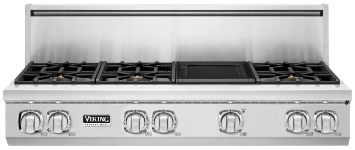 "48"" 7 Series Gas Rangetop, Propane Gas
