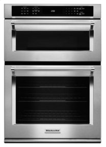 "30"" Combination Wall Oven with Even-Heat(TM) True Convection (Lower Oven) - Stainless Steel"