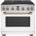 Cafe AppliancesCafe Appliances Dual Fuel Convection Range