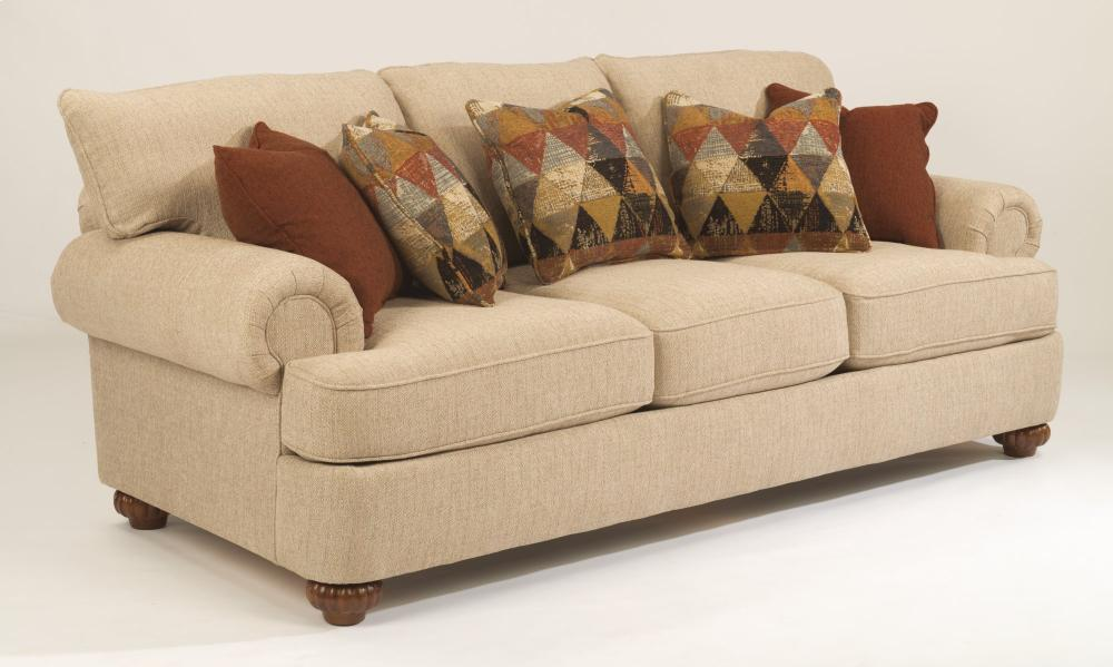 Hidden · Additional Patterson Fabric Sofa Without Nailhead Trim