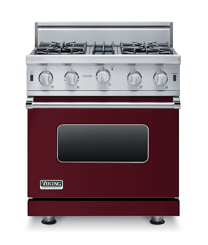 "30"" Open Burner Gas Range, Natural Gas