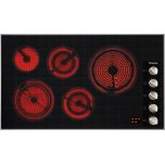MieleMiele KM 5627 208V Electric cooktop 36 1/8 (915) wide for extremely convenient cooking.