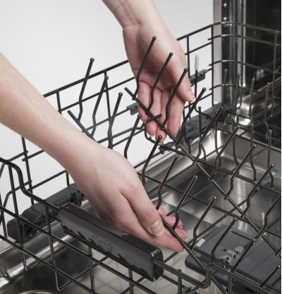 GE® Dishwasher with Hidden Controls Product Image