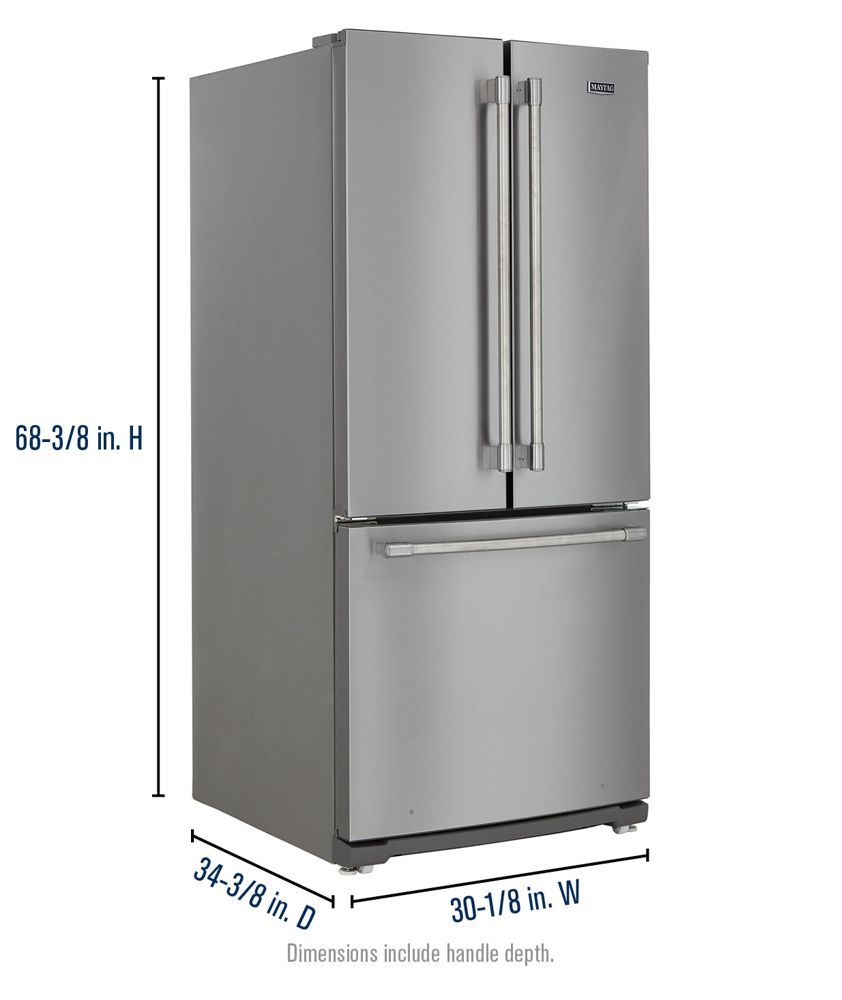 Mff2055frz maytag for Wide french doors