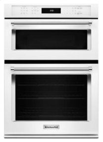 "27"" Combination Wall Oven with Even-Heat(TM) True Convection (lower oven) - White"