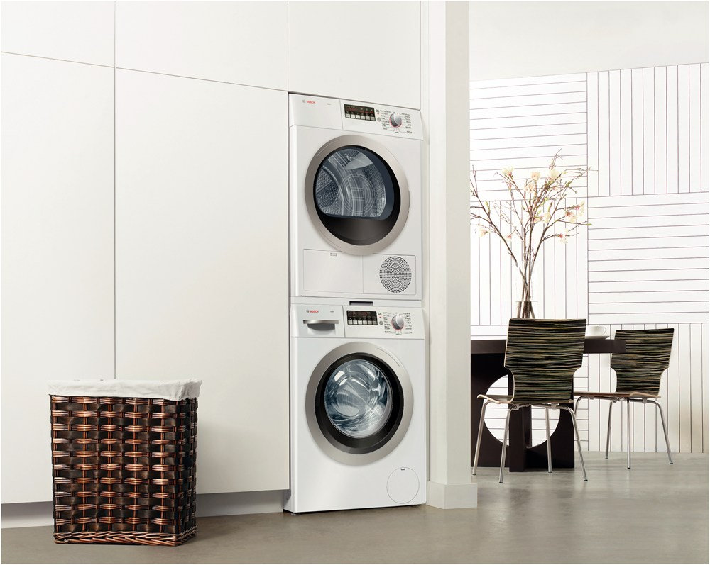 Miele stackable washer dryer ventless - Bosch