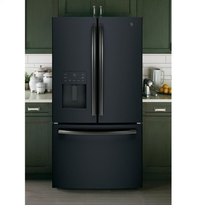 GE® ENERGY STAR® 25.6 Cu. Ft. French-Door Refrigerator Product Image