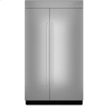 JENN-AIR48-inch Stainless Steel Panel Kit for Fully Integrated Built-In Side-by-Side Refrigerator
