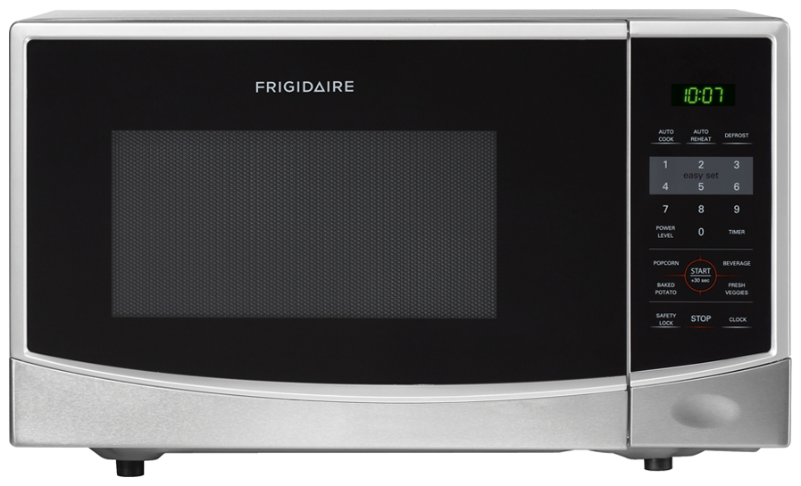 Countertop Microwaves At Menards : Frigidaire 0 9 Cu Ft Countertop Microwave Silver Product Details ...