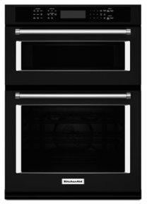 "30"" Combination Wall Oven with Even-Heat(TM) True Convection (Lower Oven) - Black"