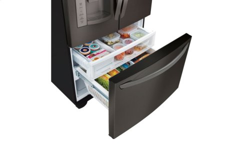 27 cu. ft. Ultra Capacity 3-Door French Door Refrigerator