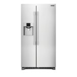 FrigidairePROFESSIONALFrigidaire 23' Counter Depth Side by Side Refrigerator