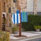 Hardwood Towel Rack - Oiled Finish Product Image