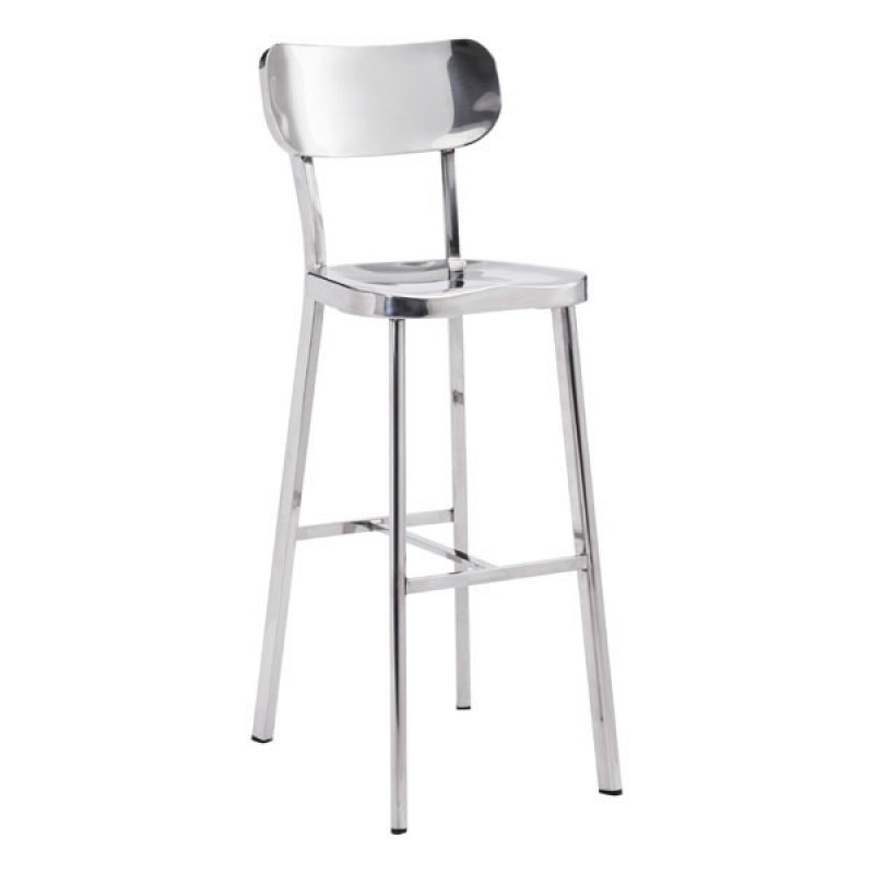 Winter Bar Chair Stainless Steel