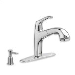 American StandardPolished Chrome Xavier Pull-Out Kitchen Faucet with SelectFlo Technology