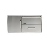 CoyoteCoyote Combination Storage: Warming Drawer & Access Doors