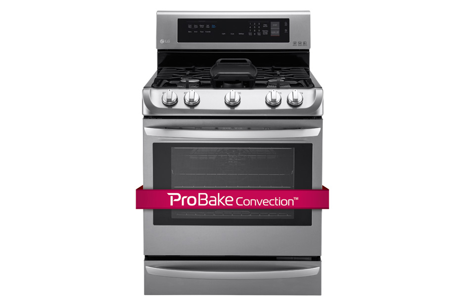 LG LRG4115ST  Stainless Steel on GAS RANGES30