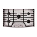 """LGSTUDIOLG Studio - 36"""" Gas Cooktop with the Professional Look of Stainless Steel"""
