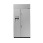 DacorDacor 42&quot - 15.2 Cu. Ft. Built-In Side-by-Side Refrigerator with Exterior Ice & Water Dispenser