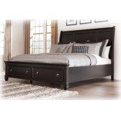 Greensburg Black 3 Piece Bed Set Queen