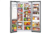 22 cu. ft. Side-By-Side Counter-Depth Refrigerator w/Door-in-Door(R)