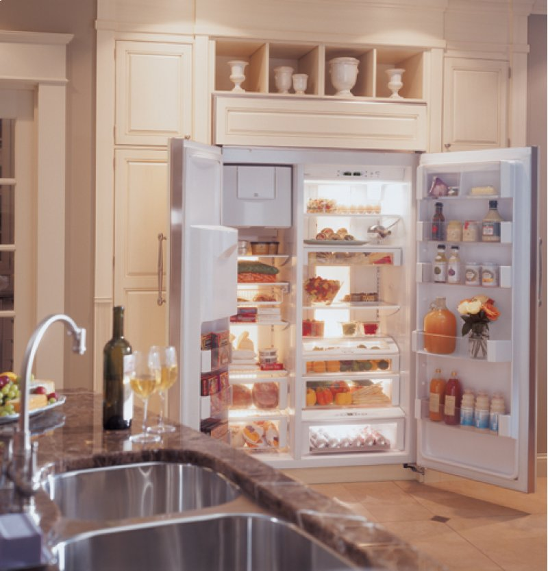 Built in Refrigerator 36 Side by Side Additional ge Monogram 36 Quot Built in Side by Side Refrigerator