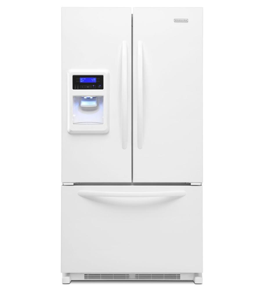 Kfis20xvwh kitchenaid 20 cu ft counter depth french door refrigerator architect r series - Kitchenaid architect counter depth refrigerator ...