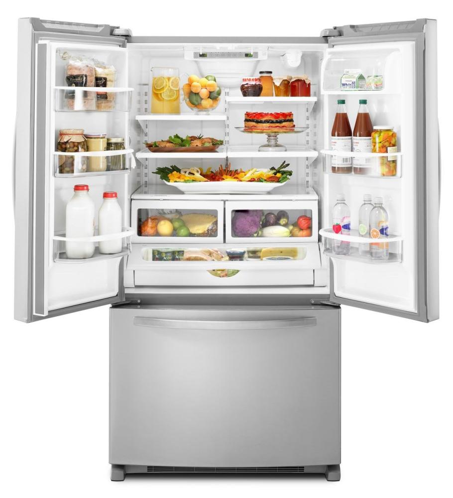 depth french door refrigerator architect r series ii white
