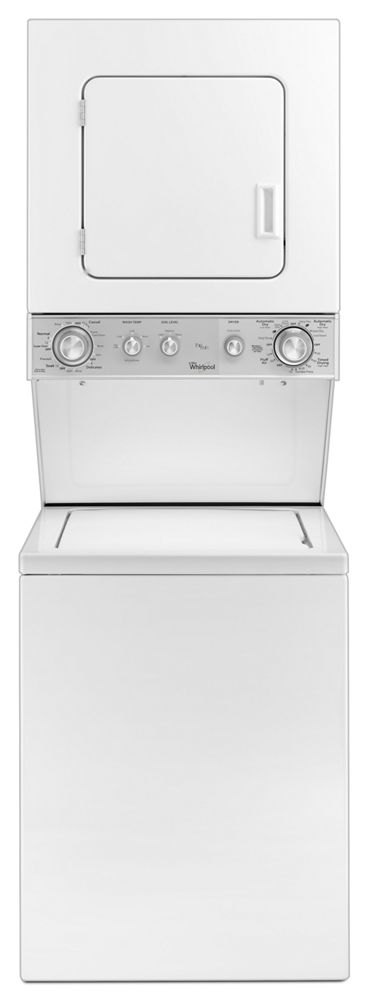 1.5 cu ft. Stacked Laundry Center with Electric Dryer and AutoDry Drying