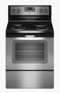 4.8 Cu. Ft. Freestanding Electric Range with AccuBake(R) System