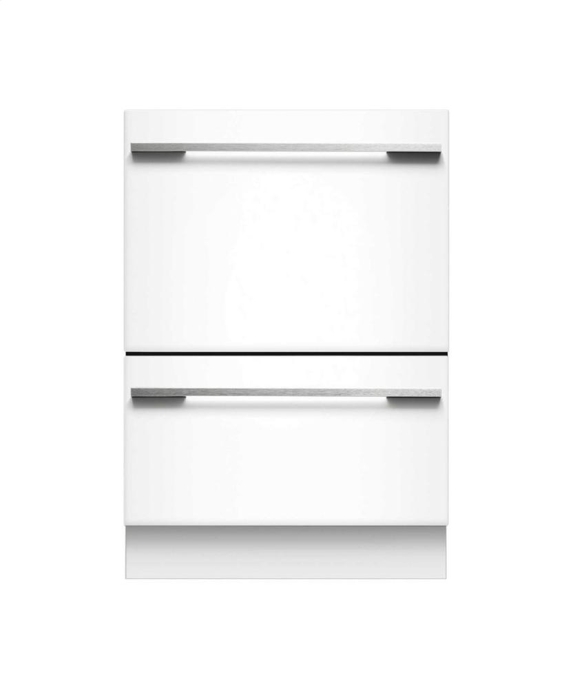 Dd24dhti7 fisher paykel double drawer tall dishwasher integrated aus tex appliance - Fisher paykel dishwasher drawer reviews ...