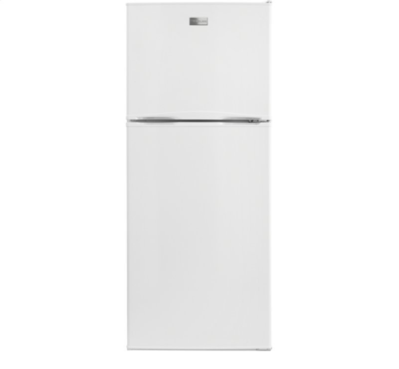 Best Apartment Refrigerator PA Frigidaire 12 Cu Ft Top Freezer Apartment Size Refrigerator